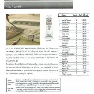 TINTA AQUA WASH BISTRE BASICO 60 ML ref 708
