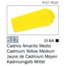 ACRILICO VALLEJO AMARILLO CADMIO MEDIO 58ML ref 517