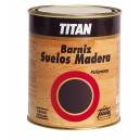BARNIZ SUELOS MADERA SATINADO TITAN  500ML