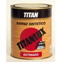 BARNIZ TITANLUX SINTETICO SATINADO 125ML