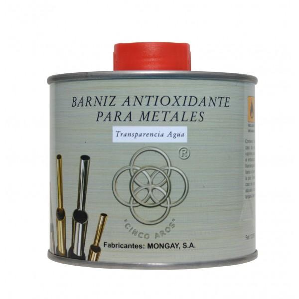 Barniz antioxidante para metales