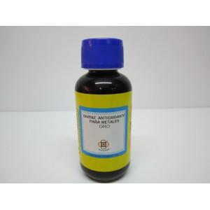 Barniz antioxidante para metales oro corleadura mongay 125 - Barniz para metales ...